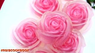 ژله بشکل گل رز
