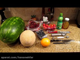 کالسکه با هندوانه مخصوص شب یلدا