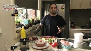 کباب کاسه ای اردبیل همراه با سس کباب گوجه و کره