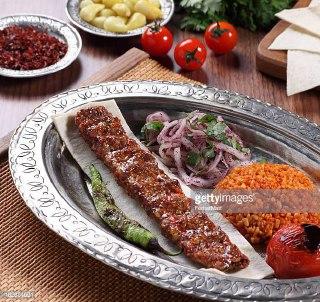 کباب کوبیده با لوبیا سبز