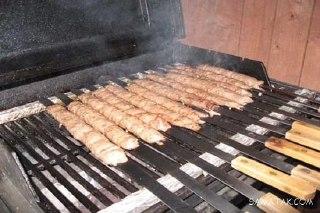 کباب کوبیده مرغ با زعفران