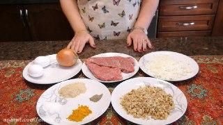 کتلت گوشت وگردو باطعمی استثنائی باآشپزخانه فریبا
