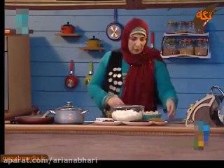 کشمش پلو با مرغ