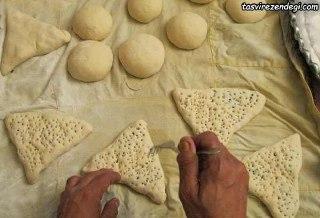 کلوچه سنتی مثلثی