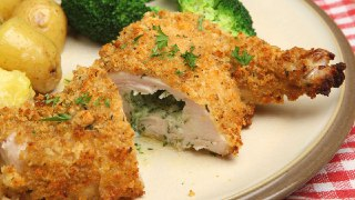 کیوسکی مرغ با پنیر