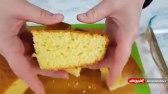 کیک اسفنجی با طعم پرتقال