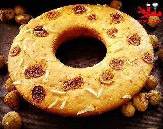 کیک انجیر خشک