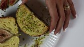 کیک انجیر و پسته