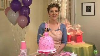 کیک تولد سیندرلایی