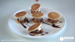 کیک ساندویچی مینی پنکیک