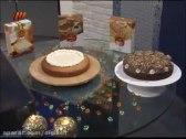 کیک وانیل و کاکائو