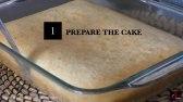 کیک ژله و فرنی آسان و