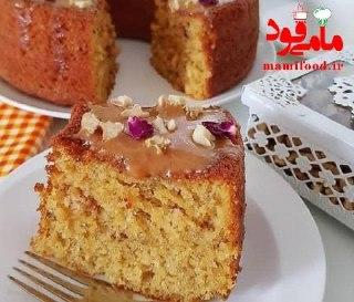 کیک کدو حلوایی و گردو