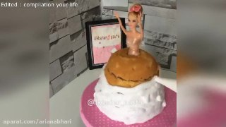 کیک کیک تولد