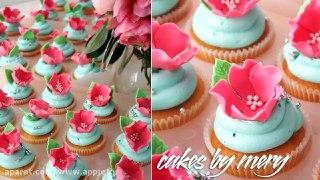 گلبرگ رز برای تزئین روی کیک