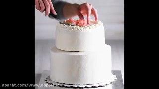 ۱۵ ایده متنوع تزیین کیک های خانگی در چند دقیقه