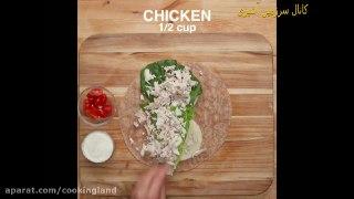 ۴ ناهار متفاوت با یک مرغ بریان