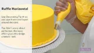 ۵ تزیین حرفه ای و رنگی کیک