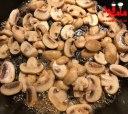 بورک گوشت و قارچ