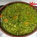 خوراک لوبیا سبز با گوشت گوسفند