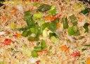 برنج مخلوط سبزیجات چینی