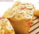 کیک موز با ماکروفر