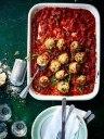 توپک مرغ با سس گوجه