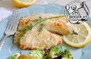 ماهی تیلاپیا کبابی با پنیر پارمزان