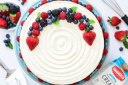 کیک میوه لایه ای