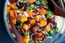 سبزیجات کبابی با برنج آفریقایی و فتا