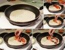پیتزا ساده خانگی بدون فر