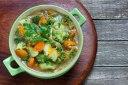 سوپ سبزیجات با ماکروفر