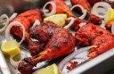 مرغ هندی تندوری