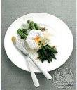 مارچوبه و تخم مرغ تنگاب پز با کره ی بالزامیک