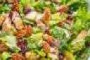 سالاد مرغ پاییزی سالاد مرغ پاییزی با رنگ های زیبا