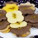 شیرینی عسل دارچینی با قالب برفی