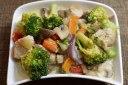 قارچ مخلوط با سبزیجات