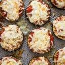 پیتزای بادمجان لقمهای