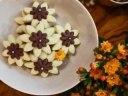 شیرینی گل مینا دو رنگ مخصوص عید نوروز