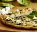 پیتزای اسفناج و خامه